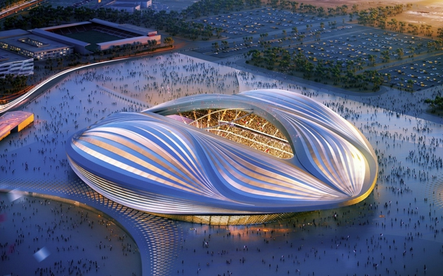 Stade Doa-Zaha Hadid Architects
