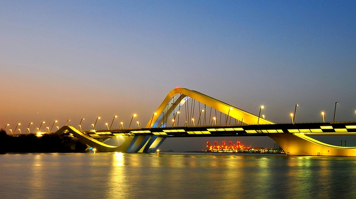 pont Cheik Fayed, Abou Dabi-DR
