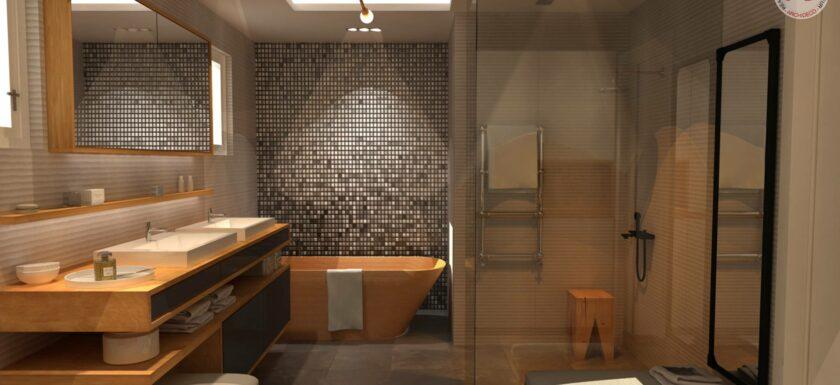 Une salle de bain zen pour une rentrée anti stress - MySweetimmo