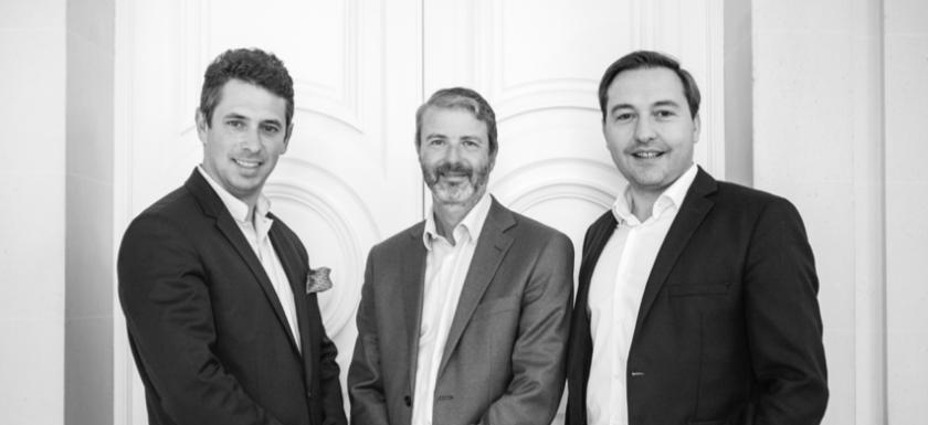 Pierre Vital, Arnaud Dumont et Edouard Myon