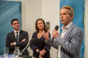 Mickael Nogal, Ariane Artinian et Rens Lipsius