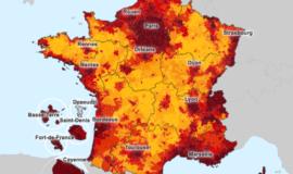 Le Ministère du logement met en ligne une carte des loyers dans chaque commune