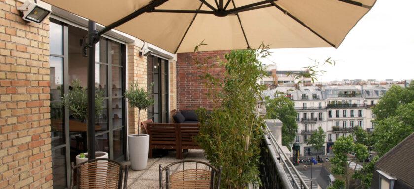 appartemenet terrasse