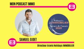 """""""Les gens ne recherchent plus d'appartements sans balcons"""", Samuel Gidet, Aravis Holidays Immobilier, Agence de l'Année 2020 (Palmarès de l'immobilier Rhône-Alpes)"""