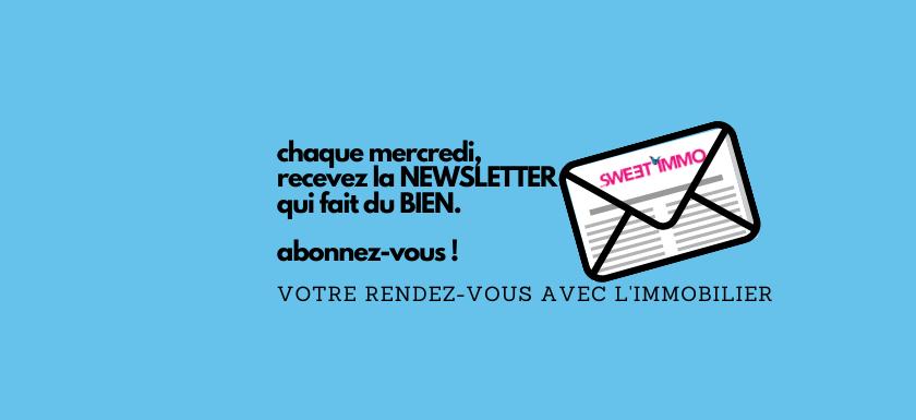 Newsletter MySweetimmo
